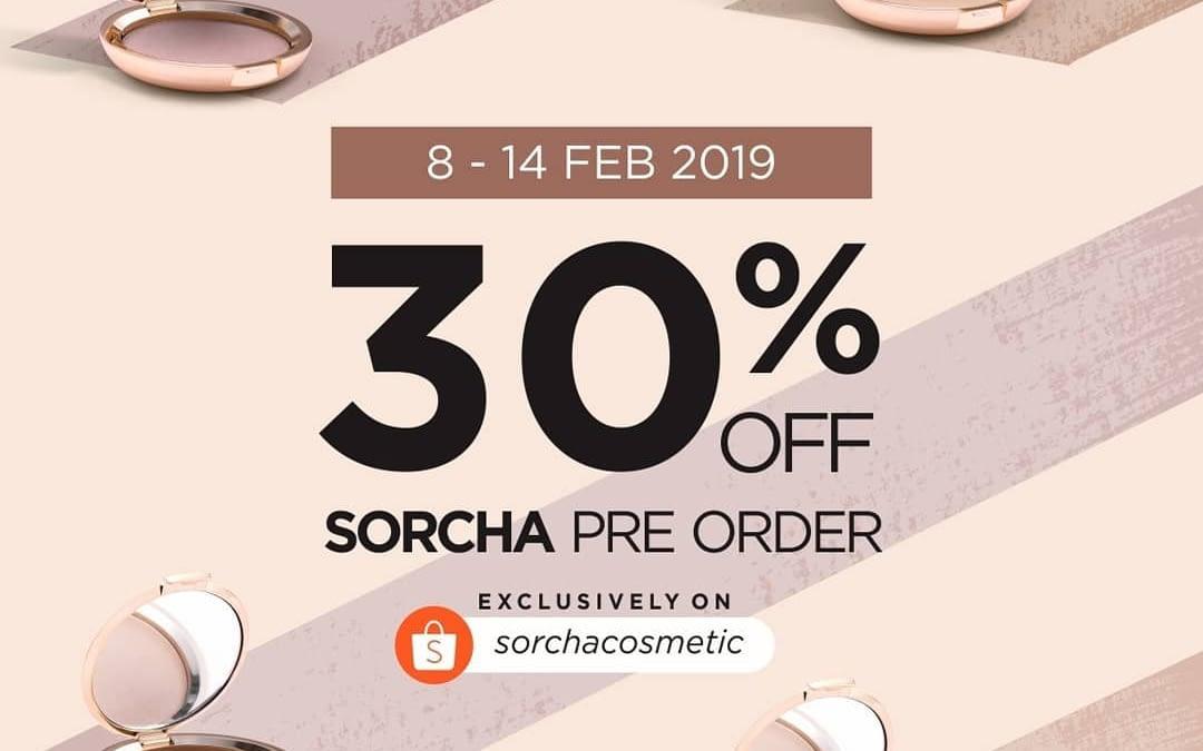Launching Sorcha Discount 30% Off